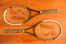 "Brand New Bonny Tennis Rackets Raqucets 2pcs 100% Graphite 27"" Long Light Weight"