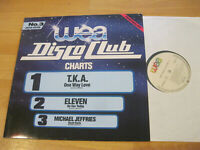 LP Various Wea Disco Club Charts Nr.3 Limited Edition The Jets Vinyl PRO 441