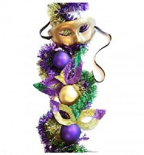 MARDI GRAS PARTY MASKS STANDEE * masquerade party decorations * cutouts *