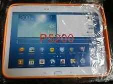 """Samsung Galaxy Tab 3 10.1"""" Bright Orange Silicone Tablet Cover BNIP"""