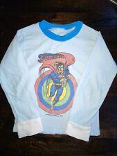 Vintage Superman DC Comics 1979 Fleece Long Sleeve Top Kids Toddler Size