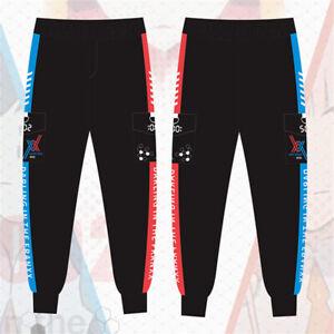 Darling in the Franxx Zero Two Hiro Jacket Zipper Hoodies Anime Print Tops Pants