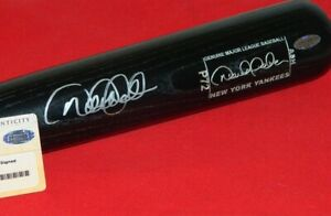 SIGNED DEREK JETER GAME MODEL BAT DEREK JETER AUTOGRAPHED BAT YANKEES STEINER