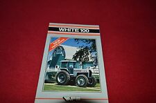 White Oliver Tractor Field Boss 100 Tractor Dealer's Brochure AMIL4