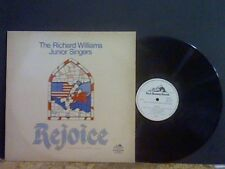RICHARD WILLIAMS JUNIOR SINGERS Rejoice   LP Choral  Fem Vox  Welsh   EX !!