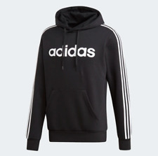 adidas Essentials 3-Stripes Pullover Hoodie Activewear Sweatshirt
