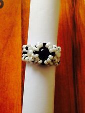 Fairy Beaded Pearl Ring  Handmade