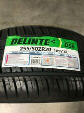 1 New 255 50 20 Delinte Desert Storm ll DS8  Tire