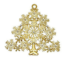 Large Christmas Tree Snowflake Pendant for Necklace or Decoration