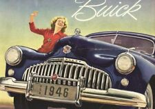 Buick 1946 A3 photo art POSTER print GZ050