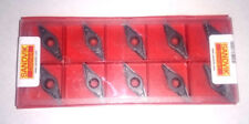 10 SANDVIK CARBIDE TIPS VBMT 16 04 08-MM 1105 VBMT160408 CNMG TURNING 332
