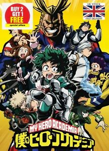 🇬🇧BOKU NO HERO ACADEMIA Greatest Anime Series Ever Manga Poster NEXT DAY DEL