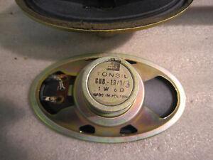 Tonsil  GD8 - 13 / 1 / 3   ovale Lautsprecher Paar