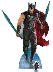 Thor Life Size Cardboard Cutout Thor Ragnarok Movie Standee SCSC1051 Brand New!