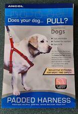 Ancol Padded Nylon Dog Harness Extra Large Dog