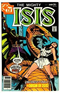 ISIS #7 (FN+) Origin Story! Based on the CBS TV Show! DC 1977 Bronze-Age Classic