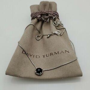 David Yurman Women's Chatelaine Pendant Necklace with Black Onyx