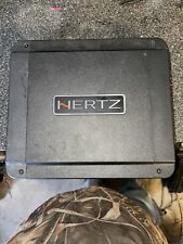 New listing Hertz Hcp 1D 550W x 1 Car Amplifier