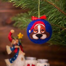 Christmas Tree Ball Christmas Tree Decor Ball Beagle Toy New Year Gift