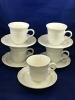 Mikasa French Countryside 5 Cups and 5 Saucers F9000