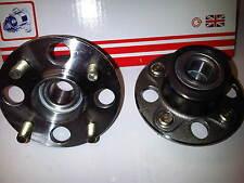 für Honda Jazz 1.2 1.3 1.4 2002-2008 2 x Neue Radlager hinten / Naben