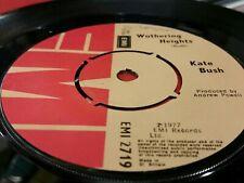 "7"" Vinyl Single - Kate Bush - Wuthering Heights/Kite - 1977"