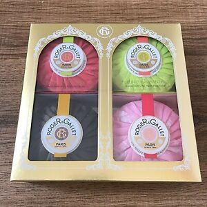 Roger & Gallet Paris 4 Soap Coffret Gift Set 100g Bars