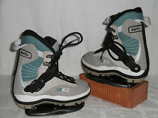 "K2 ""Clicker"" Junior Snowboard Step-In Boots T: 36 + k2 Step-In Liaison"