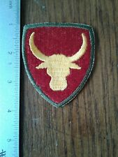 New listing Ww 2 Us Army 12th Philippine Division Od Border Patch, reproduction