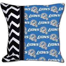 NEW NFL Detroit Lions Football Decorative Throw Pillow