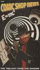 Comic Shop News Csn 1497 Twilight Zone The Shadow Promo Giveaway Spiderman Mini
