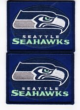 SEATTLE SEAHAWKS SEW/IRON ON PATCH BADGE EMBROIDERED T-SHIRT NFL FOOTBALL