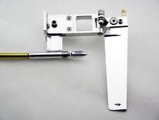 110mm gouvernail avec supports et 4mm flex cable set for rc boat #791