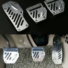 3PCS Car Accelerator Pedal Foot Pedals Pad Cover Kit Non-slip For Brake Clutch