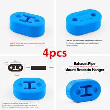 4pc/Set 12mm Polyurethane Car Exhaust Muffler Hangers Mount Bracket Universal