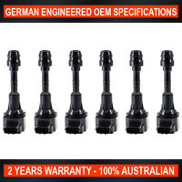 6 x Brand New Ignition Coil for Nissan Patrol AWD Y61 4.8L 2001-2012 ref IGC278