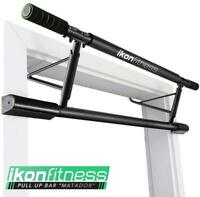 IKONFITNESS Doorway Pull Up Bar Home Gym Exercise Workout Power Strength Trainer