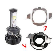 2Pcs H7 LED Headlight Light Bulb Adapter Holder Retainer For Audi BMW VW Nissan
