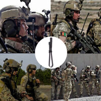 s CS Tactical Antenna Dual Band VHF UHF 144/430Mhz Foldable For Walkie Talkie I1