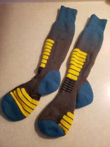 Eurosocks Ski Zone Snow Skiing Socks -1112 (Small)
