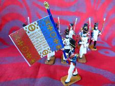10 soldats de plomb - Grenadier du 1er empire - Fabrication artisanale