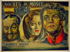 MOSCOW NIGHTS 1935 Laurence Olivier Harry Baur VENTURI ARGENTINE POSTER