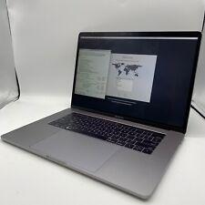 """Apple MacBook Pro 15"""" Intel Core I7-6700HQ @ 2.60GHz 16GB RAM 500GB HDD"""