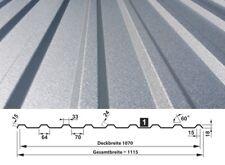 Trapezblech Dachbleche | 1. Wahl | 0,50 mm | ALUZINK-Beschichtung | T-18M/1070