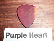 "Wood guitar pick ""Purple Heart""  by RobinsonWood Picks"