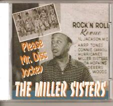 MILLER SISTERS - CD - Please Mr. Disc Jockey - BRAND NEW
