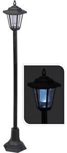 LED Solar Wegleuchten 58 / 83cm - Laterne Wegeleuchte Standleuchte Gartenleuchte