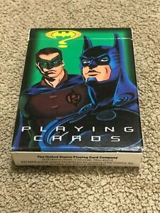 Batman Playing Cards The United States Playing Card Co 1994