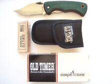 SCHRADE 470T BEAST OLD TIMER  LINER LOCK KNIFE