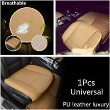 Breathable 3D Car Front Seat Cover PU Leather Seat Protector Cushion Accessories
